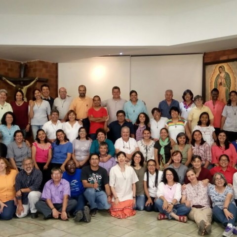Taller con la familia misionera Verbum Dei en julio 2017